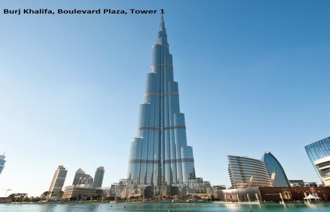Burj Khalifa,Boulevard Plaza,Tower 1
